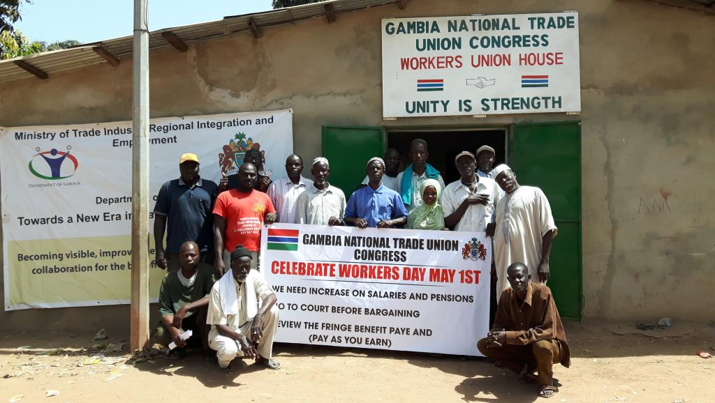 1er mai les syndicats africains f tent aussi le travail - Fete du travail 2017 ...